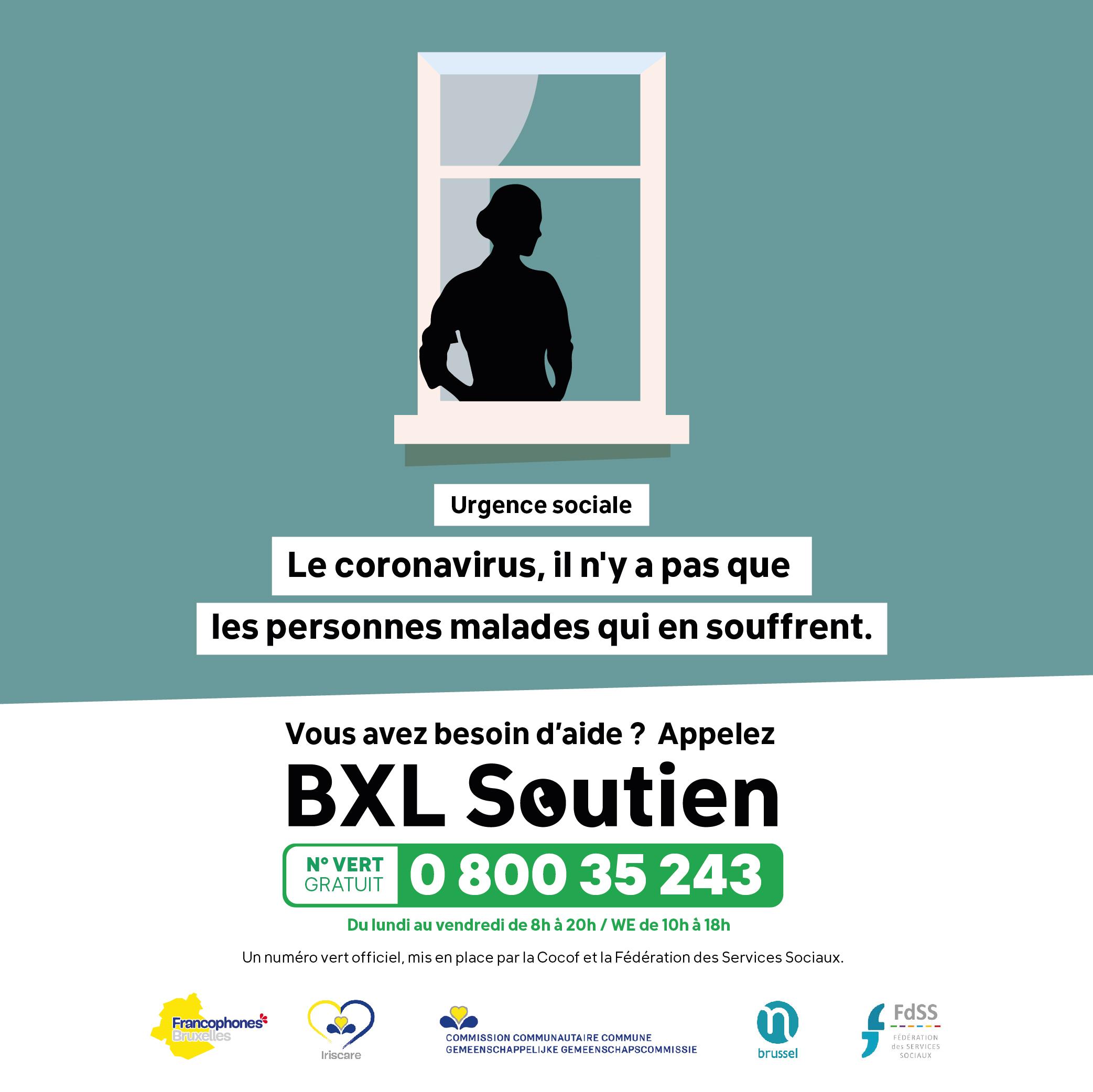 Affiche a3 Bruxelles soutien - cliquer sur l'image pour télécharger l'affiche